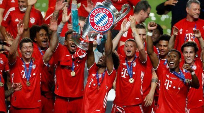 拜仁夺欧冠冠军,创欧冠11连胜纪录